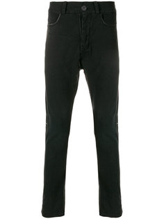 джинсы с заниженным шаговым швом 10Sei0otto