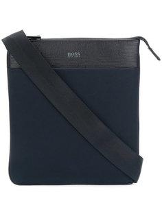 сумка на плечо с тисненым логотипом  Boss Hugo Boss