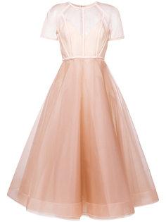 структурированное платье-бюстье  Alex Perry