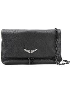сумка на плечо с деталью крыльев Zadig & Voltaire