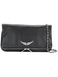 сумка на плечо с деталью в виде крыльев Zadig & Voltaire