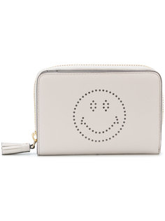 кошелек Smile на молнии Anya Hindmarch