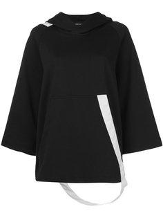poncho-style hoodie Y-3