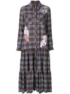 платье-рубашка в клетку Katya Dobryakova КАТЯ ДОБРЯКОВА