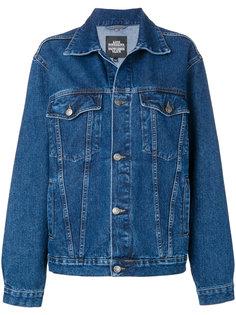джинсовая куртка с вышивкой Katya Dobryakova КАТЯ ДОБРЯКОВА