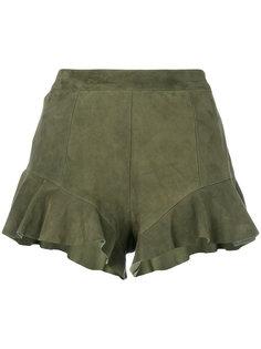 шорты с оборками Drome