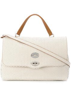 сумка-тоут с волнистым узором Zanellato