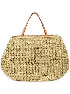 плетеная сумка-тоут Ermanno Scervino