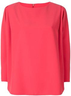 блузка с плиссированными рукавами  Emporio Armani