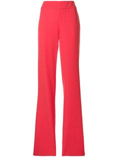 расклешенные брюки с завышенной талией  Emporio Armani