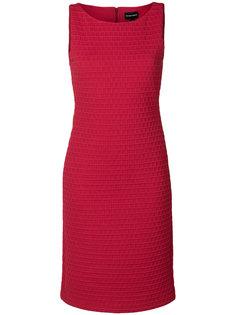 фактурное платье  Emporio Armani