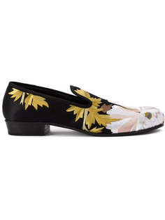 floral jacquard loafers Ann Demeulemeester