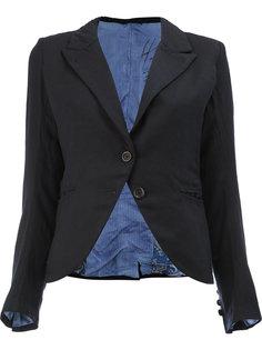 приталенный укороченный пиджак Geoffrey B. Small