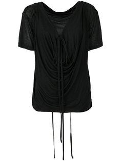 драпированная многослойная блузка Ann Demeulemeester