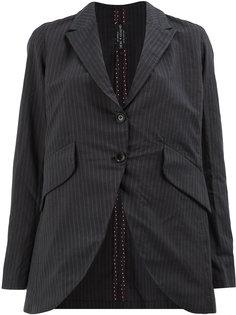 пиджак в тонкую полоску Geoffrey B. Small