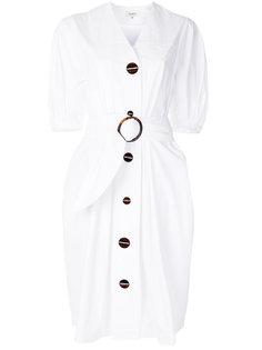 платье-рубашка с поясом Isa Arfen