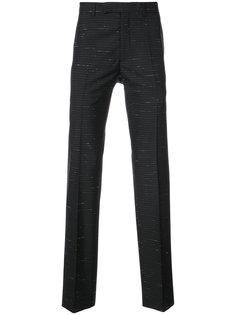 брюки в полоску Dior Homme