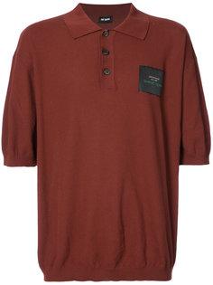 рубашка-поло с нашивкой Raf Simons