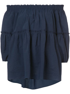 блузка с открытыми плечами Kuho