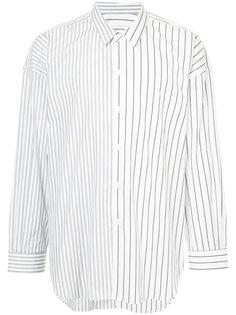 oversized striped shirt monkey time