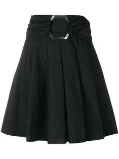 юбка с поясом и складками Philipp Plein