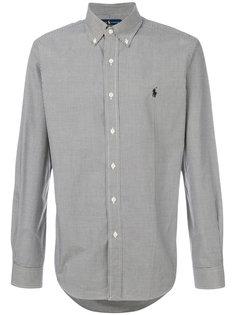 рубашка в мелкую клетку Polo Ralph Lauren