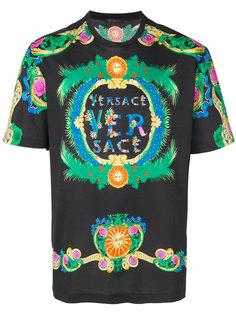 футболка Beverly Palm с принтом Versace