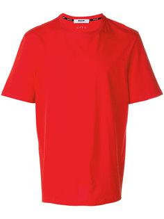базовая футболка в стиле оверсайз MSGM