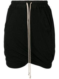 шорты на шнурке  Rick Owens DRKSHDW