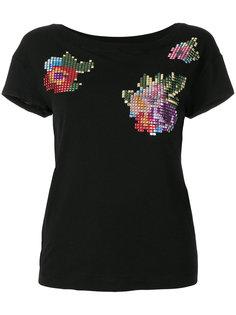 футболка с отделкой  Love Moschino