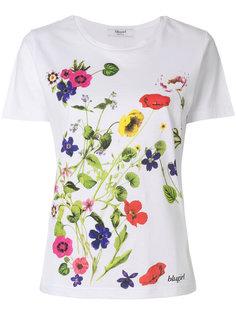 футболка с цветочным принтом Blugirl