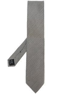 плетеный галстук с жаккардовым узором Tom Ford
