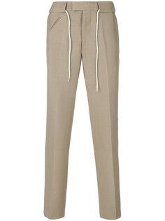 прямые брюки на шнурке Maison Margiela