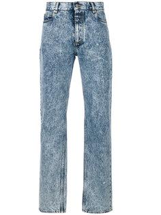 прямые джинсы с выцветшим эффектом Maison Margiela