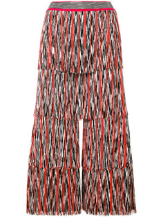 широкие брюки плиссе  Missoni