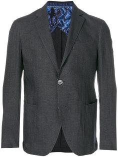 классический пиджак свободного кроя Etro