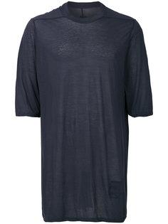 футболка свободного кроя Rick Owens DRKSHDW