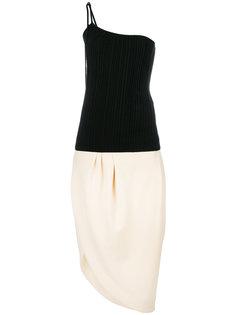 платье с панельным дизайном Jacquemus
