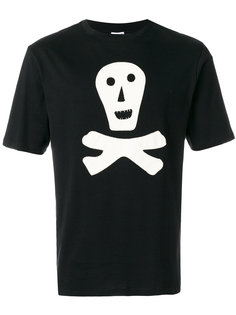 футболка с принтом черепа Loewe