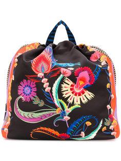 рюкзак с цветочным принтом Etro