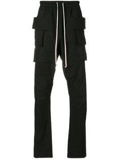 """брюки с карманами в стиле """"карго"""" Rick Owens DRKSHDW"""