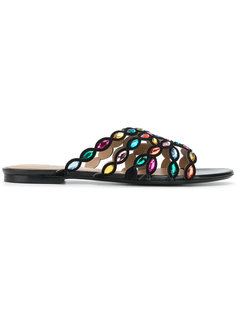 декорированные сандалии Sonia Rykiel