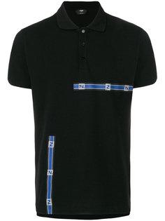 футболка-поло с логотипом Fendi