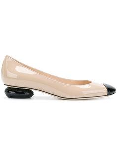 балетки на низких каблуках Bottega Veneta
