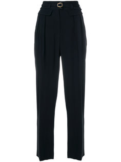 зауженные брюки с поясом A.P.C.