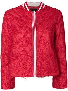укороченный кружевной пиджак  Ermanno Ermanno