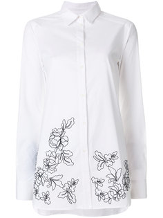 длинная рубашка с вышивкой  Ermanno Ermanno