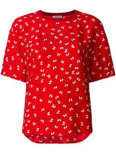 футболка с принтом бабочек P.A.R.O.S.H.