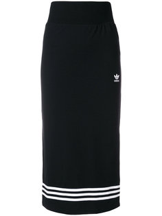 юбка миди с полосками Adidas Originals Adidas