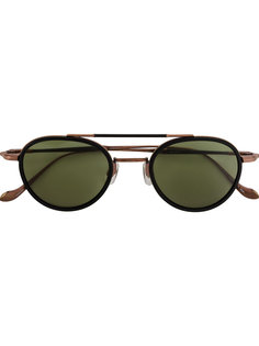 round framed sunglasses Matsuda